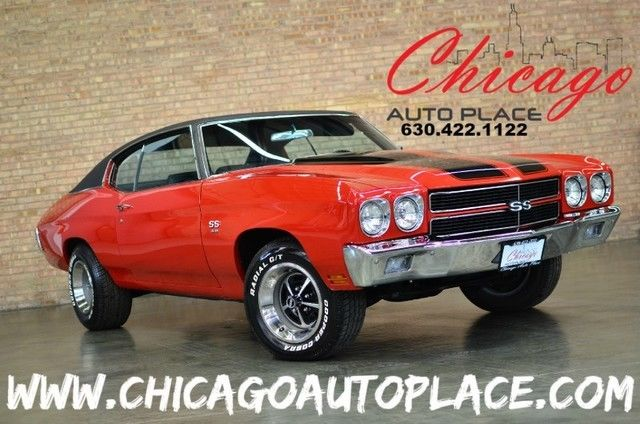 1970 Chevrolet Chevelle NUMBERS MATCHING BIG BLOCK CAR