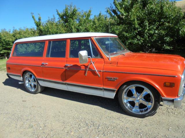 1970 chevy 3 door suburban new crate 350 a c like c10 c 10 for 10 door suburban