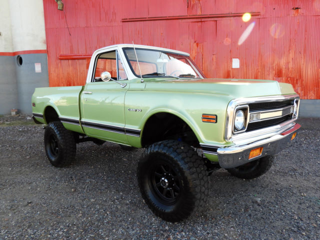 "1970 Chevrolet C-10 **** Offered at ""No Reserve"" ****"