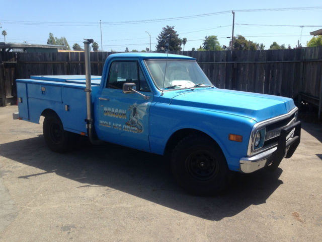 Utility Truck Beds For Sale >> 1970 Chevy C 10 Utility Bed Truck For Sale Photos Technical