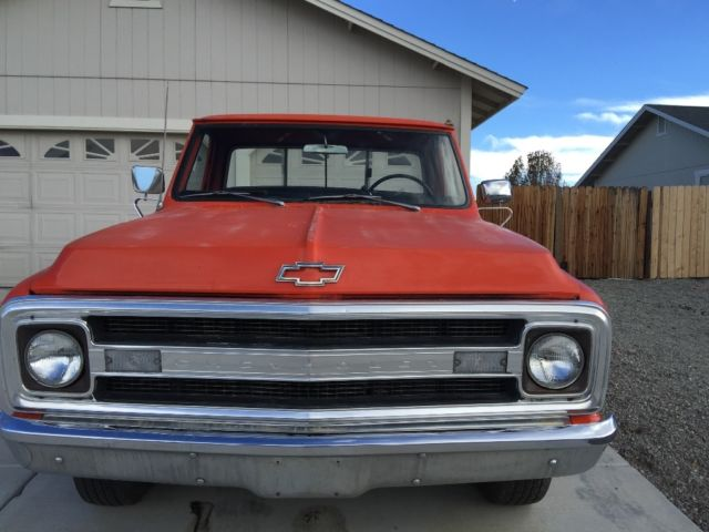 1970 Chevy c/20 pickup longbed for sale: photos, technical