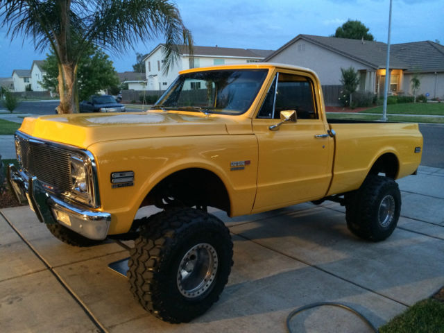 1970 chevy k 10 big block truck for sale photos technical specifications description. Black Bedroom Furniture Sets. Home Design Ideas