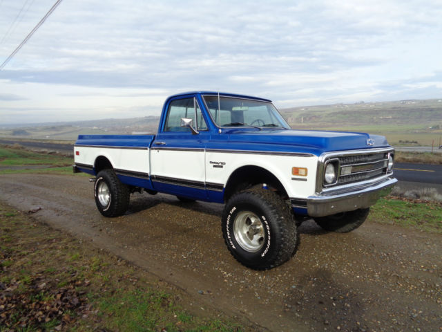 1970 Chevy K10 4x4 Restored Cheyenne For Sale Photos Technical