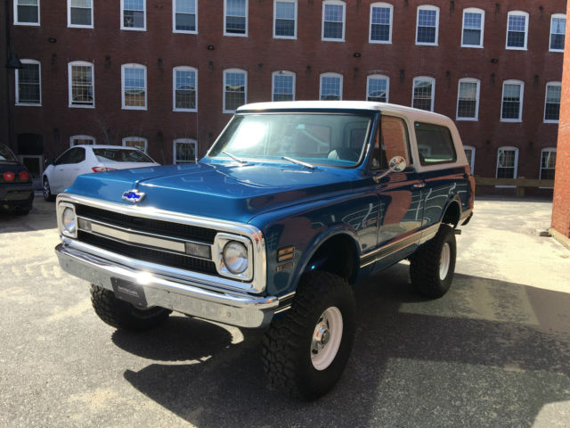 1970 chevy k5 blazer w chevy 350 and manual 4 speed beautiful restored l k for sale photos. Black Bedroom Furniture Sets. Home Design Ideas