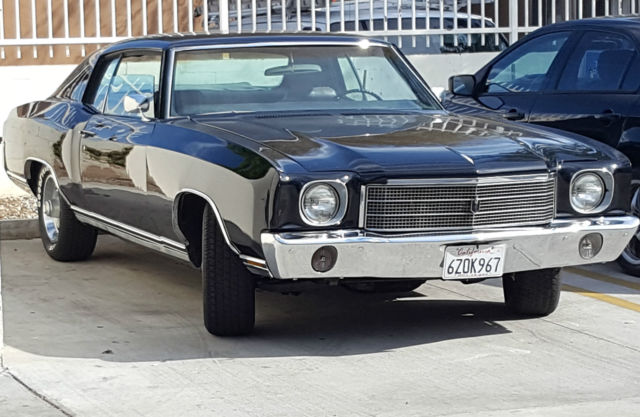 1970 Chevrolet Monte Carlo Chrome
