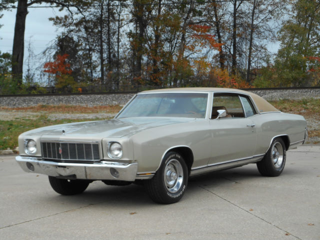 1970 Chevrolet Monte Carlo NO RESERVE AUCTION - LAST HIGHEST BIDDER WINS CAR!