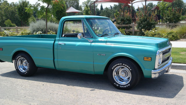 1970 Chevy Pickup >> 1970 Chevy Pickup C10 Fleetside Shortbed For Sale Photos Technical