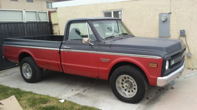 1970 Chevrolet C-10 Original trims
