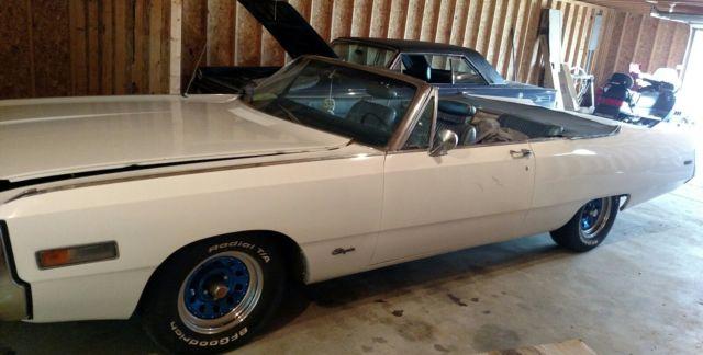 1970 Chrysler 300 Convertible For Sale: 1970 Chrysler 300 Convertible For Sale: Photos, Technical