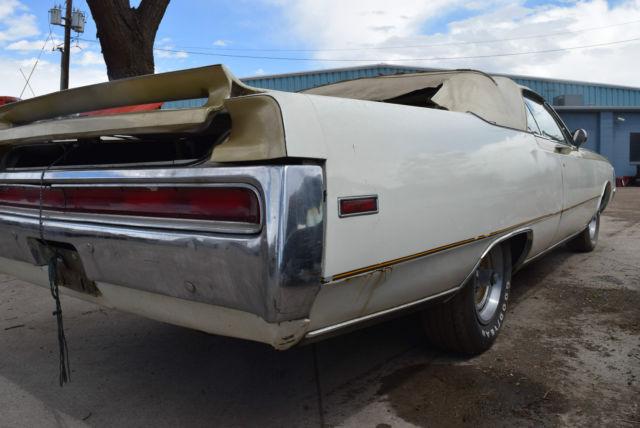 1970 Chrysler 300 Convertible For Sale: 1970 Chrysler 300 Convertible Hurst Package Upgrade For