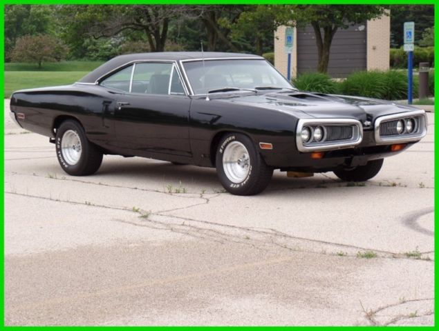 1970 Dodge Coronet CORONET 440 BLACK BEAST-READY FOR THE STREETS