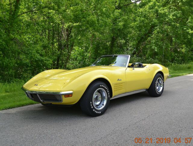 1970 Chevrolet Corvette NUMBERS MATCHING ORIGINAL 350 AUTO PS PDB TILT/TEL