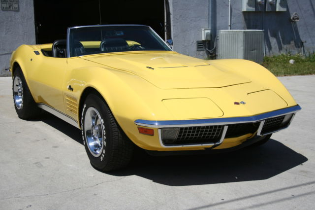 1970 Chevrolet Corvette Convertible 454/390HP-  							 							show original title