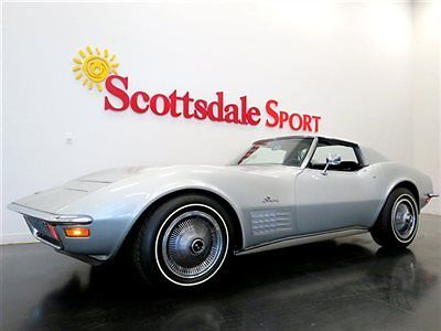 1970 Chevrolet Corvette RESTORED, MATCHING # 454/390HP, FACTORY A/C, PS, P