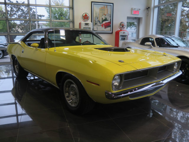 1970 Plymouth Barracuda CUDA 440 SIX PACK V CODE