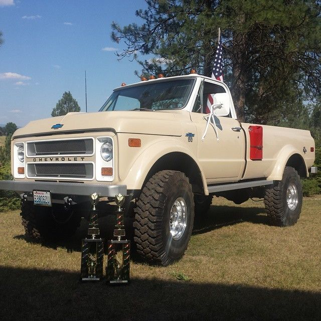 Used Chevy Trucks For Sale >> 1970 Custom Chevy K50 4WD for sale: photos, technical ...