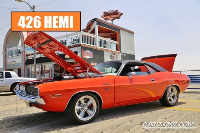 1970 Dodge Challenger 426 Hemi Dual Carb Shaker 4 Speed Dual