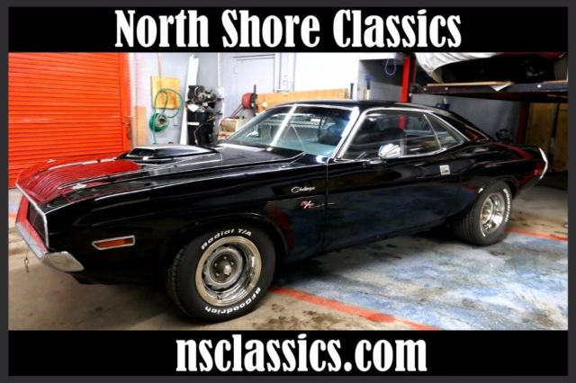 1970 Dodge Challenger -BLACK ON BLACK- 340 V8 AUTOMATIC -