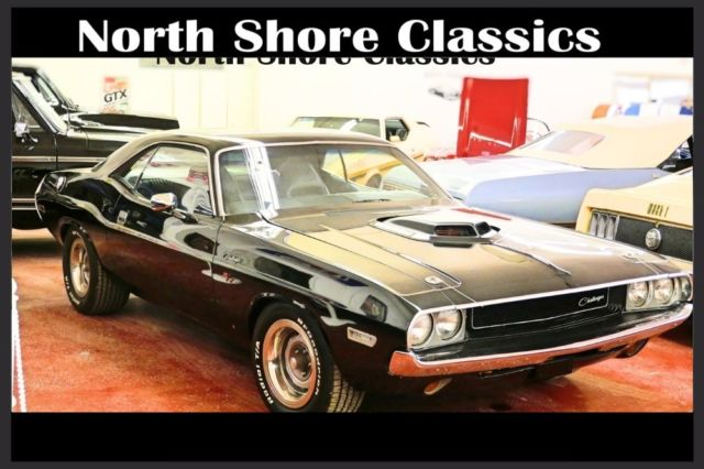1970 Dodge Challenger -BLACK ON BLACK- 360 V8 AUTOMATIC-RESTORED-NEW JET