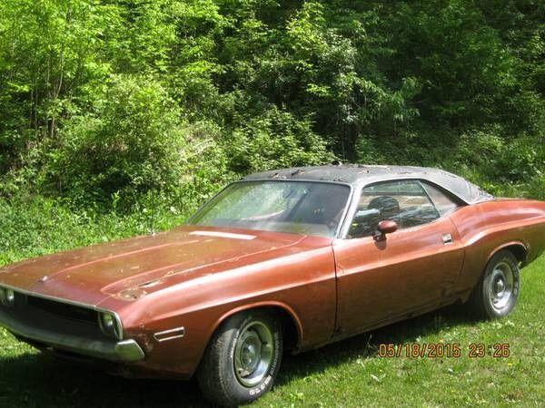 Craigslist 1970 Dodge Challenger 340 For Sale