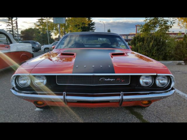 Auto Rotisserie For Sale Canada: 1970 Dodge Challenger R/T 100% Numbers Complete Rotisserie
