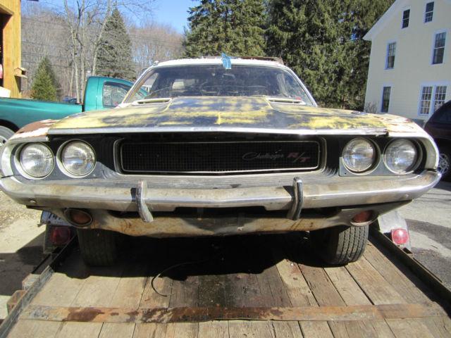 1970 Dodge Challenger R T 383 Project Car For Sale Photos