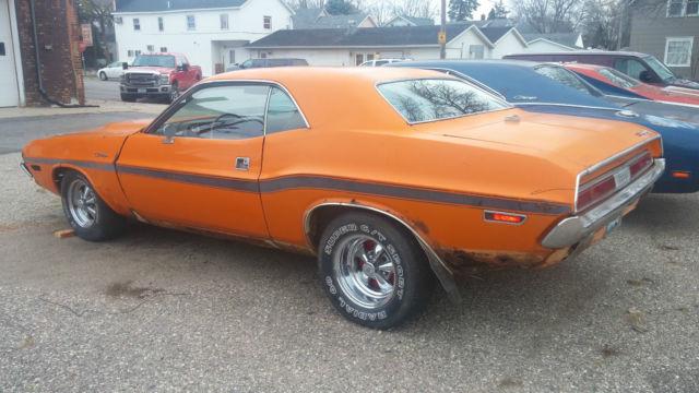 1970 Dodge Challenger R T Real 440 U Code Go Mango For