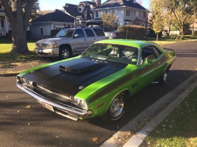 1970 Dodge Challenger Ta 340 Six Pack For Sale Photos Technical