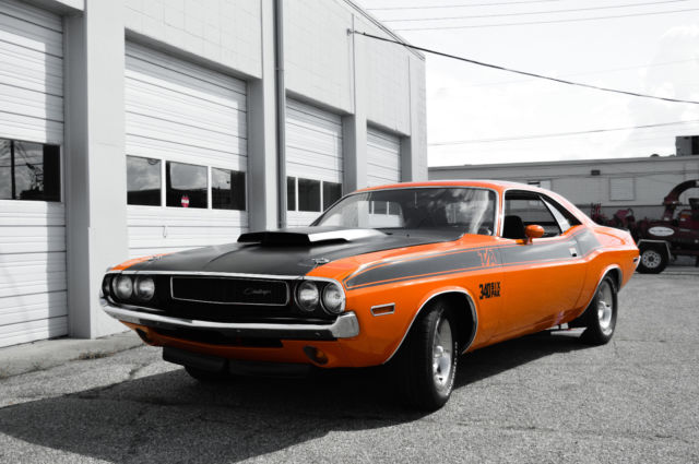 1970 Dodge Challenger T/A $59,000 numbers matching 340/six