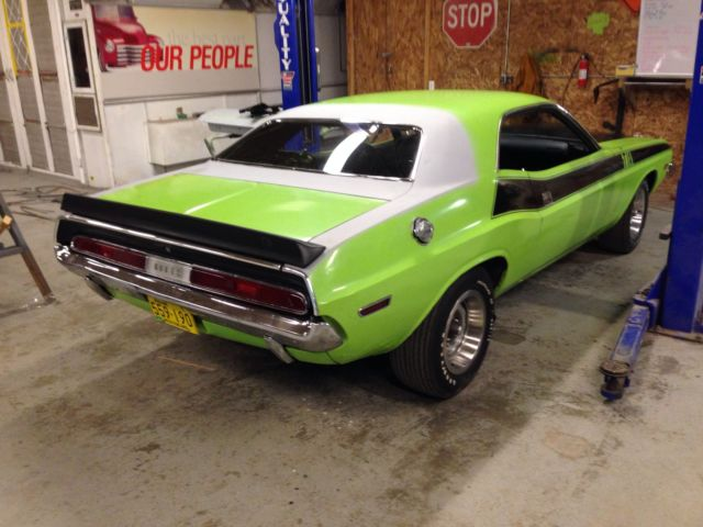 1970 Dodge Challenger Ta Lime Green Six Pack For Sale