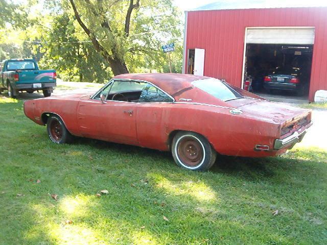 1970 Dodge Charger 500 Big Block 383 Burnt Orange Barn Find For Sale Photos Technical Specifications Description