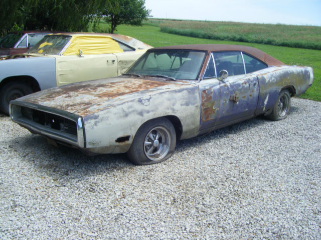 1970 dodge charger 500 factory a c matching numbers 383 727 project or parts for sale photos. Black Bedroom Furniture Sets. Home Design Ideas