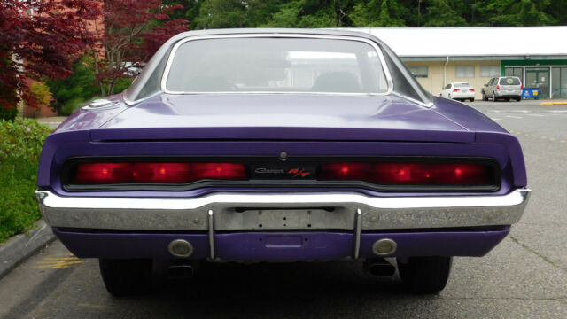 1970 Plum Crazy Dodge Charger with Black interior