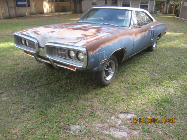 1970 Dodge Coronet 440 Solid Project Car Original Paint