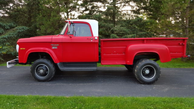 1970 dodge powerwagon d300 4x4 dually low miles for sale photos. Cars Review. Best American Auto & Cars Review