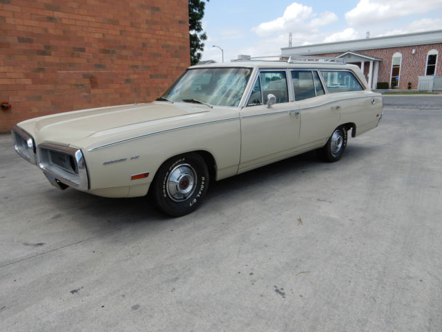 1970 dodge station wagon excellent condition unrestored for sale photos technical. Black Bedroom Furniture Sets. Home Design Ideas