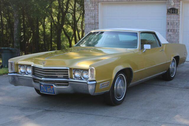 1970 Cadillac Eldorado Leather