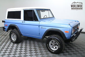 1970 Ford Bronco RESTORED. ONLY 375 MILES! 302 V8