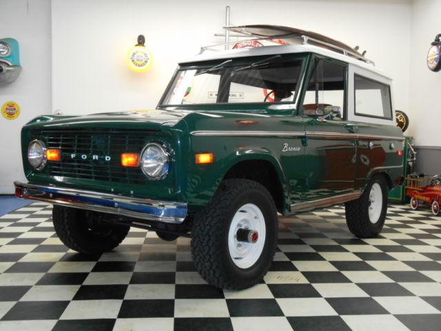 1970 Ford Bronco 4x4