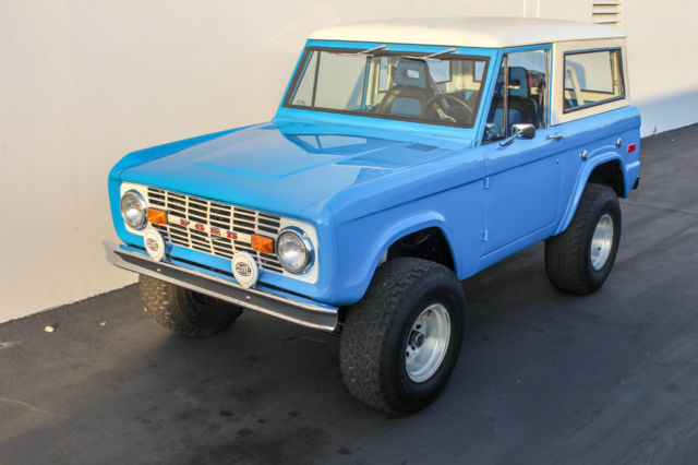 1970 ford bronco california truck restored for sale photos technical specifications description. Black Bedroom Furniture Sets. Home Design Ideas