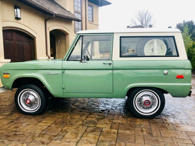 1970 Ford Bronco Mint Condition 37k ORIGINAL miles boxwood ...
