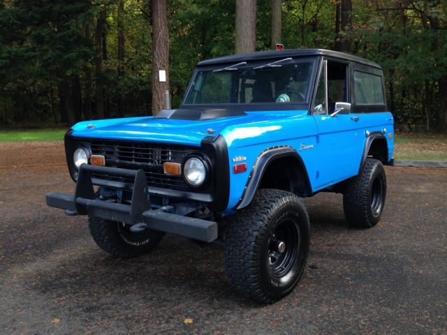 1970 Ford Bronco RESTOMOD Show Winner EFI 1968 1969 1971 1972 1973 1974 1975