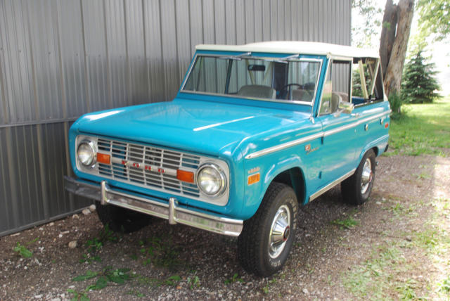 1970 Ford Bronco 1970 Ford Bronco Sport V8 Original  GREAT DRIVER!