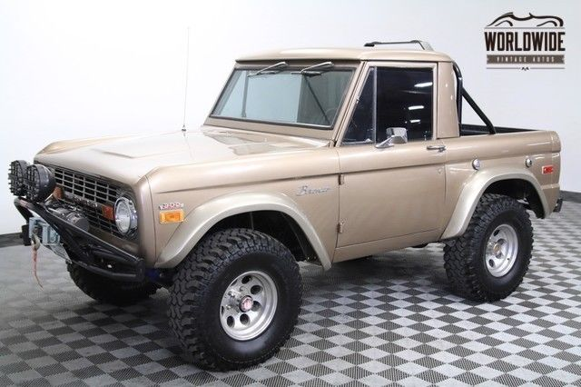 1970 Ford Bronco U14 Half Cab. 77K ORIGINAL Miles. Restored.