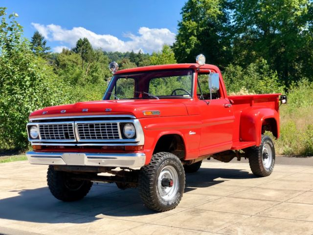 1970 Ford F-250 F-250 RANGER HIGHBOY