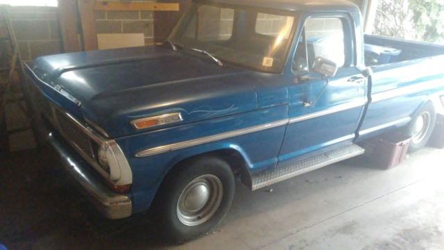 1970 Ford F-100 Long Bed