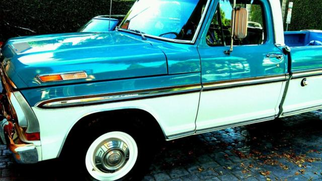 1970 Ford F-250 custom ford ranger