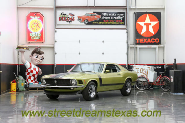 1970 Ford Mustang 70 Boss 302 #'s matching Elite Marti Report rare c