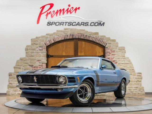 1970 Ford Mustang Boss 302 'Shaker' numbers matching, Marti Report.