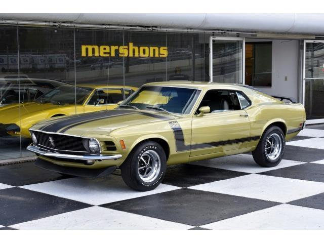 1970 Ford Mustang BOSS 302 4 Speed, Rare Colors, #'s Match, Marti Report